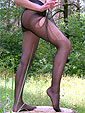 sexy nylons outdoor